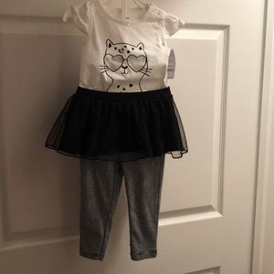 Carter's onesie and legging set